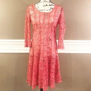 Vintage Lace Leslie Fay Dress, Size 12